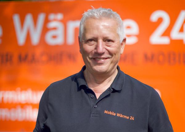 Portraitfoto Günter Backer